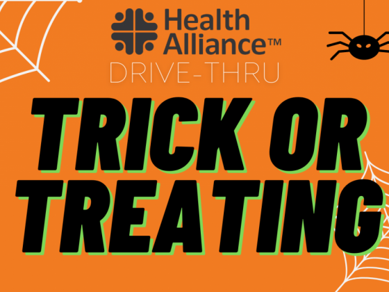 Join us for safe, drive-thru Trick or Treating!