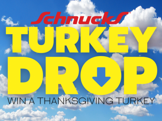 Your Thanksgiving Turkey could fall from the sky