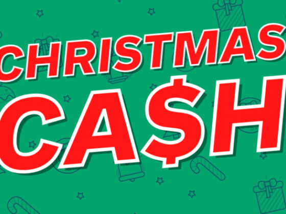 Win some extra dollars for holiday shopping!